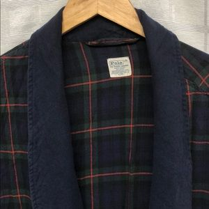 Polo by Ralph Lauren Other - Vtg Polo Ralph Lauren Plaid Robe Y